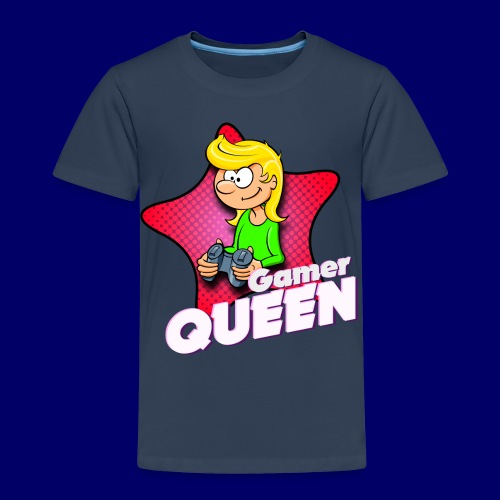 Kids - Gamer Queen - Kinder Premium T-Shirt