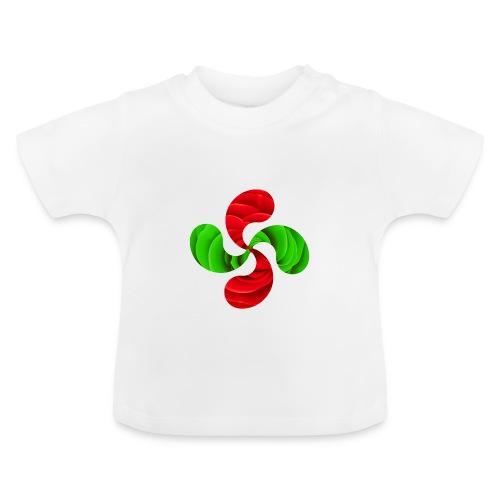 Croix Basque Lauburu - T-shirt Bébé