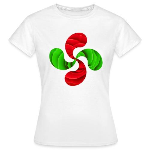 Croix Basque Lauburu - T-shirt Femme