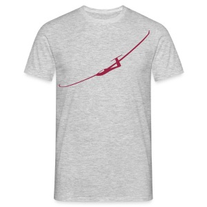 Segelflugzeug T-Shirt - Männer T-Shirt