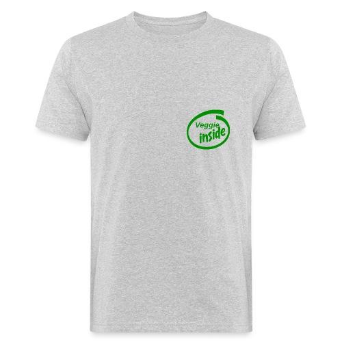 veggie inside - Männer Bio-T-Shirt