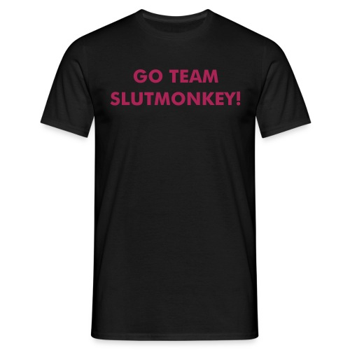 Go Team Slutmonkey T - Men's T-Shirt