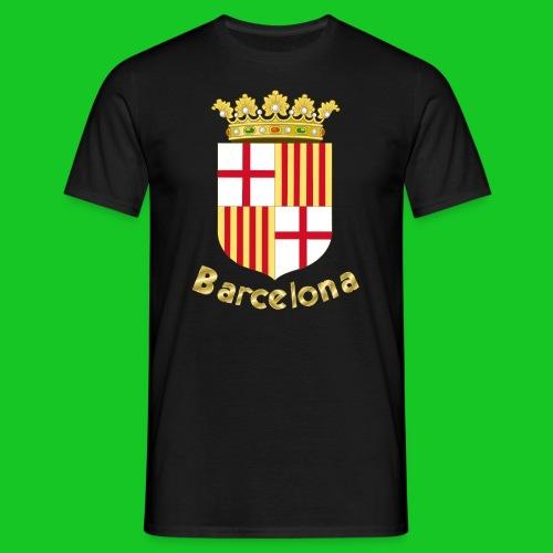 Barcelona mannen t-shirt - Mannen T-shirt