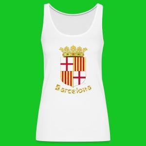 Barcelona, dames tank top - Vrouwen Premium tank top