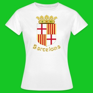 Barcelona, dames t-shirt - Vrouwen T-shirt