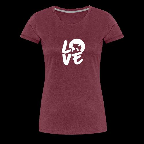 lovecats - Frauen Premium T-Shirt