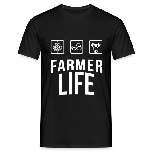 Farmer life - Tshirt - Maglietta da uomo