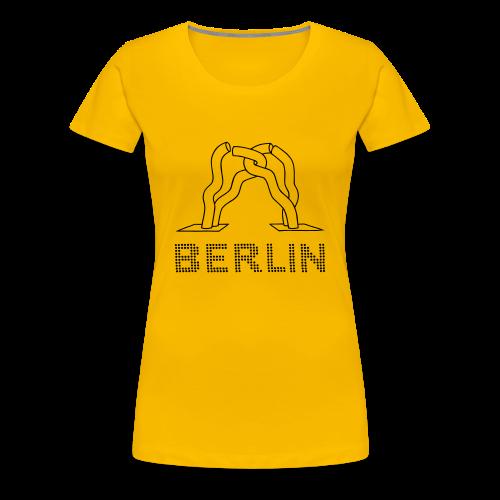 Berlin-Skulptur aufm Tauentzien - Frauen Premium T-Shirt