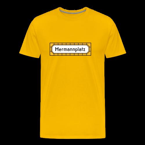 Hermannplatz Berlin Neukölln - Männer Premium T-Shirt