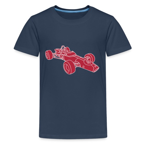Rennwagen 2 - Teenager Premium T-Shirt
