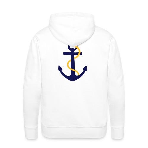 sweatshirt capuche marine - Sweat-shirt à capuche Premium pour hommes