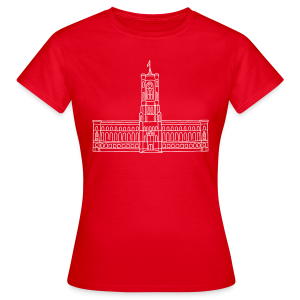 Rotes Rathaus Berlin - Frauen T-Shirt