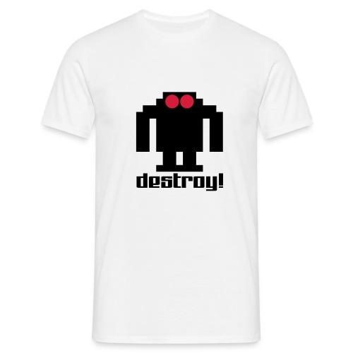 Retro robot - Men's T-Shirt