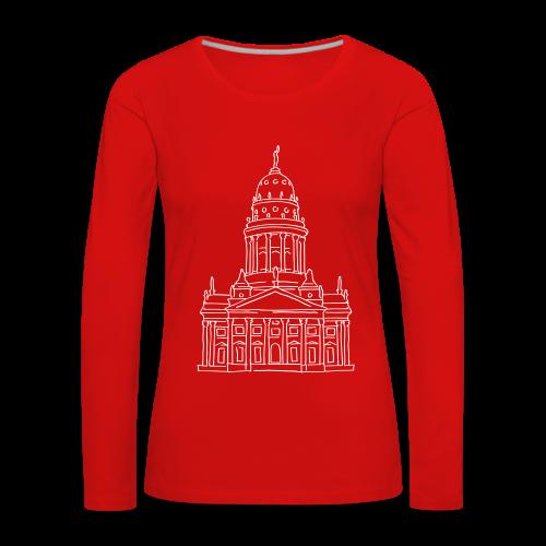 Französischer Dom Berlin - Frauen Premium Langarmshirt