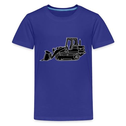 Bulldozer Planierraube 2 - Teenager Premium T-Shirt