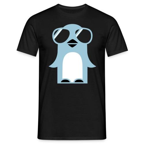 Funky Pinguïn  - Mannen T-shirt