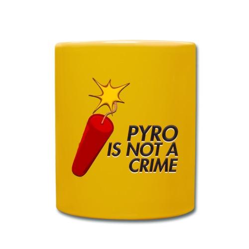 Pyro is not a crime - TASSE - Mug uni