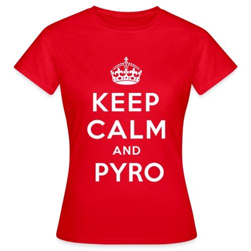 T-Shirt Calm - T-shirt Femme