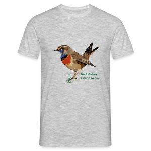 Blaukehlchen-bird-shirt - Männer T-Shirt