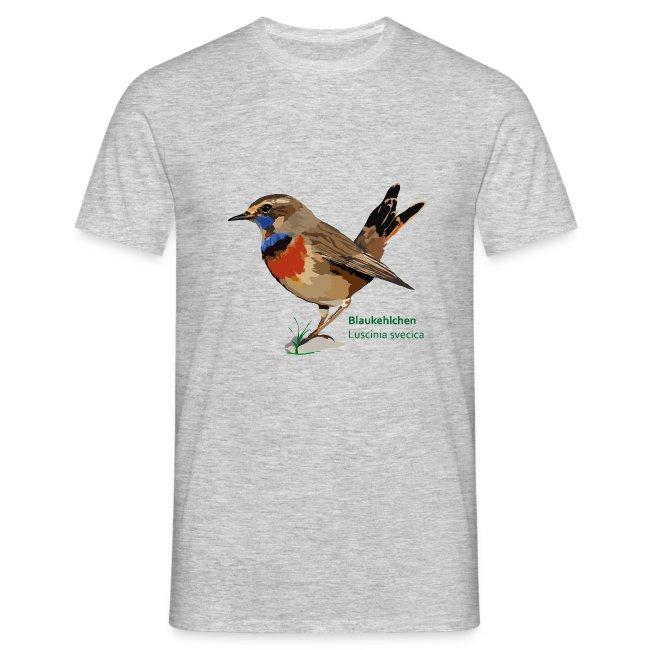 Blaukehlchen-bird-shirt
