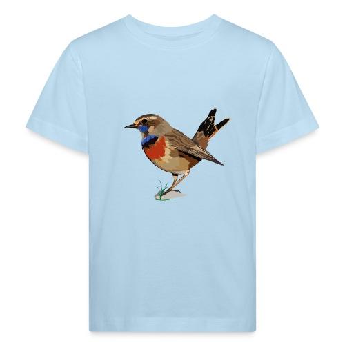 Blaukehlchen - Kinder Bio-T-Shirt