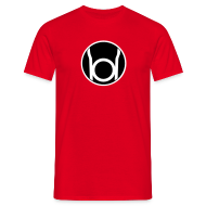 T-shirts ~ Mannen T-shirt ~ Red Lantern (Sheldon)