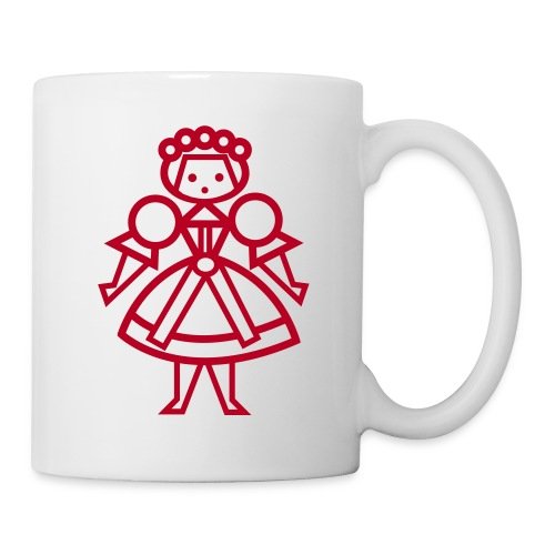 Czech girl mug - Mug