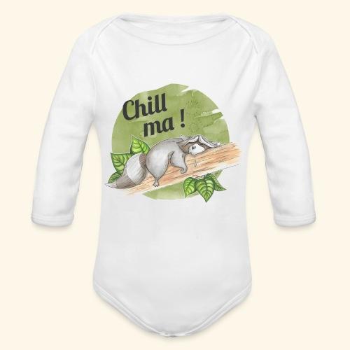 Chill ma! - Baby Bio-Langarm-Body