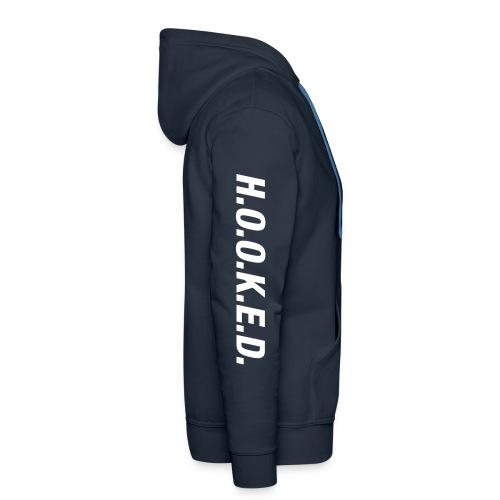 Logo sleeve hoodie navy - Men's Premium Hoodie