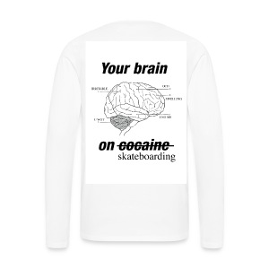 Brain feeling long sleeve - Men's Premium Longsleeve Shirt