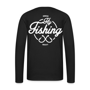 Fishing long sleeve black - Men's Premium Longsleeve Shirt