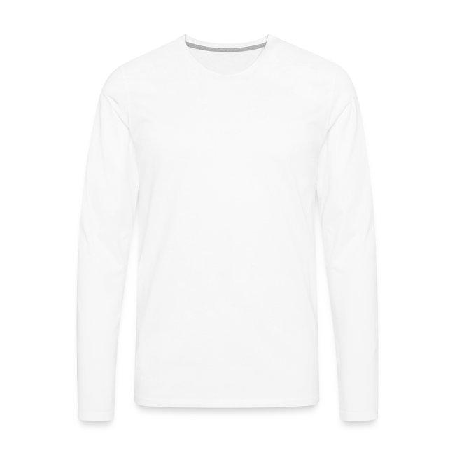 Puck logo long sleeve white