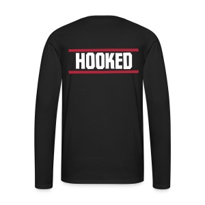 Puck logo long sleeve black - Men's Premium Longsleeve Shirt