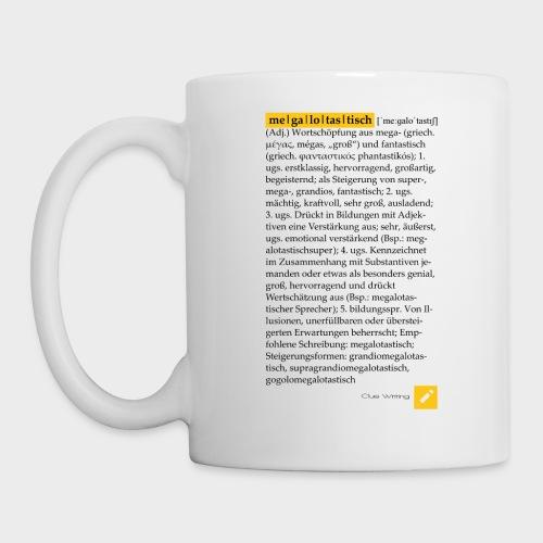 Megalotastisch | Tasse (Weiß) - Tasse