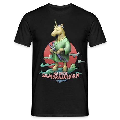 Das letzte Samurainhorn - Männer T-Shirt