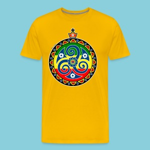 Men's Premium T-Shirt Rasta triskele - Men's Premium T-Shirt