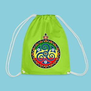 Drawstring Bag Rasta triskele - Drawstring Bag