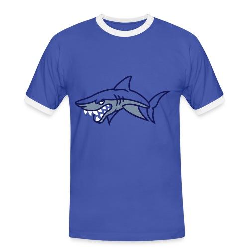 sharky - T-shirt contrasté Homme