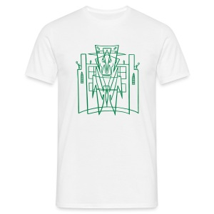 This is the City - Kustoms Los Angeles Front-Back (for Light shirts) - Men's T-Shirt