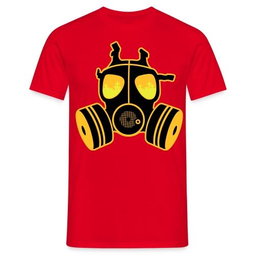 The GasMask - Mannen T-shirt