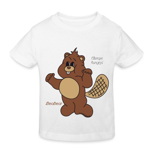 Beabear - Always hungry! - Kinder Bio-T-Shirt