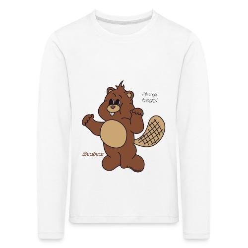 Beabear - Always hungry! - Kinder Premium Langarmshirt
