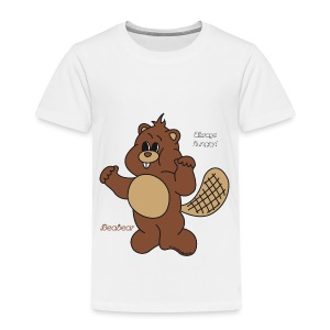 Beabear - Always hungry! - Kinder Premium T-Shirt