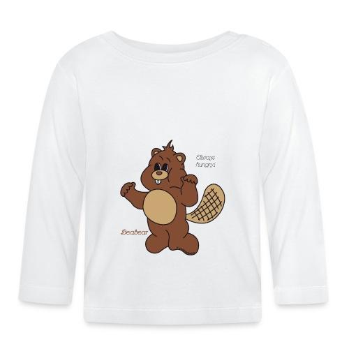 Beabear - Always hungry! - Baby Langarmshirt