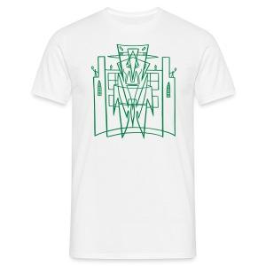 Hirohata Merc This is the City (for Light shirts) - Men's T-Shirt