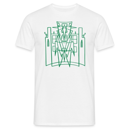 Hirohata Merc This is the City (for Light shirts) - Men's T-Shirt