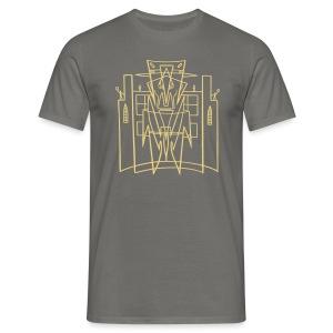 Hirohata Merc This is the City (for Dark shirts) - Men's T-Shirt