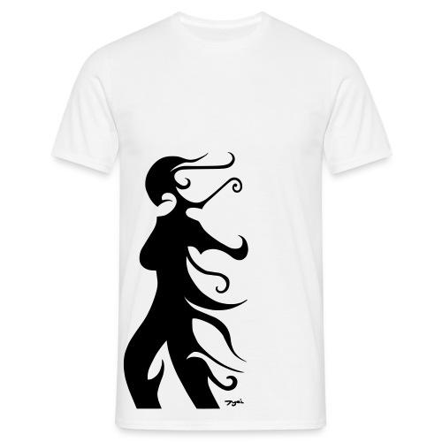 Dame des sables - Männer T-Shirt