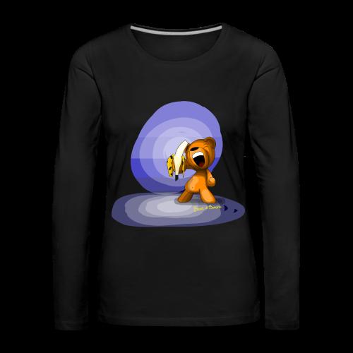 Bear and banana - femme - T-shirt manches longues Premium Femme