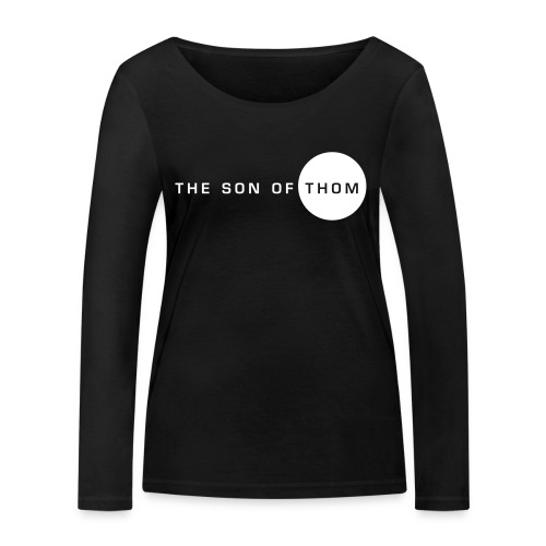 Women's Black Long Sleeve T-Shirt - Women's Organic Longsleeve Shirt by Stanley & Stella